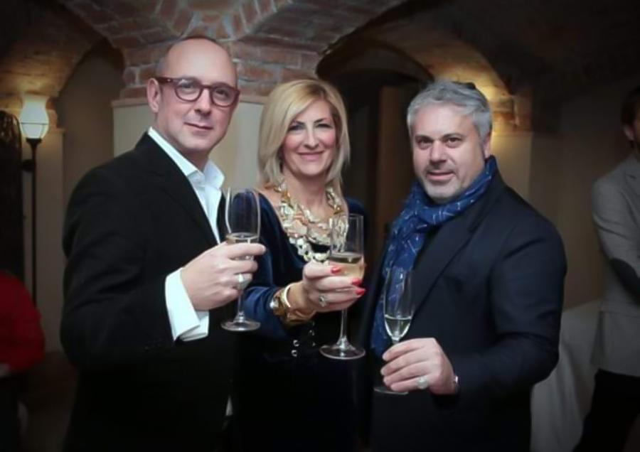Massimo Crivelli Marina Corazziari e Mirko LaGrassa