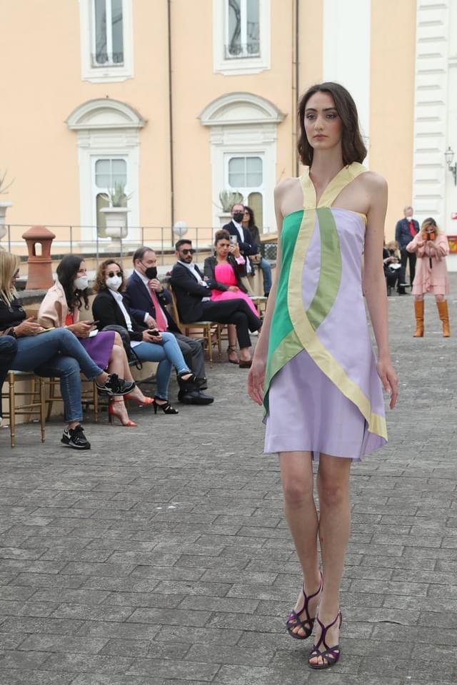 sfilata di Vittorio Camaiani svoltasi nella Coffee House di Palazzo Colonna