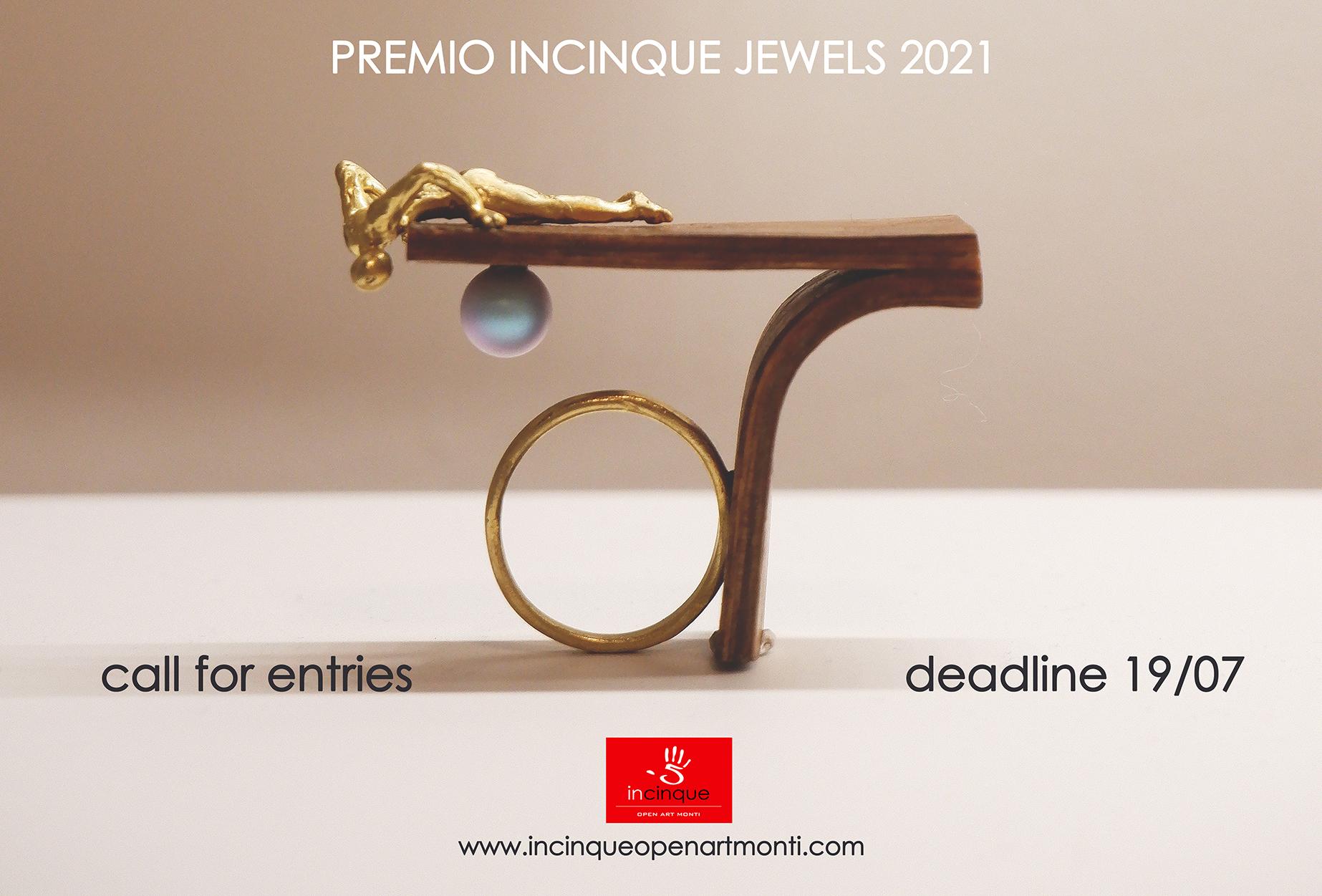 flyer Premio Incinque Jewels 10.06