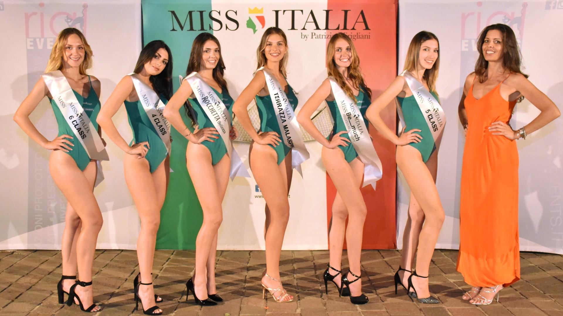 le 6 classificate + Alessandra Riva
