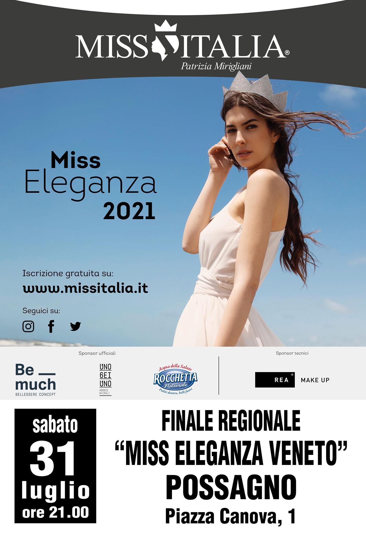 Miss Italia in Veneto 31 luglio 2021
