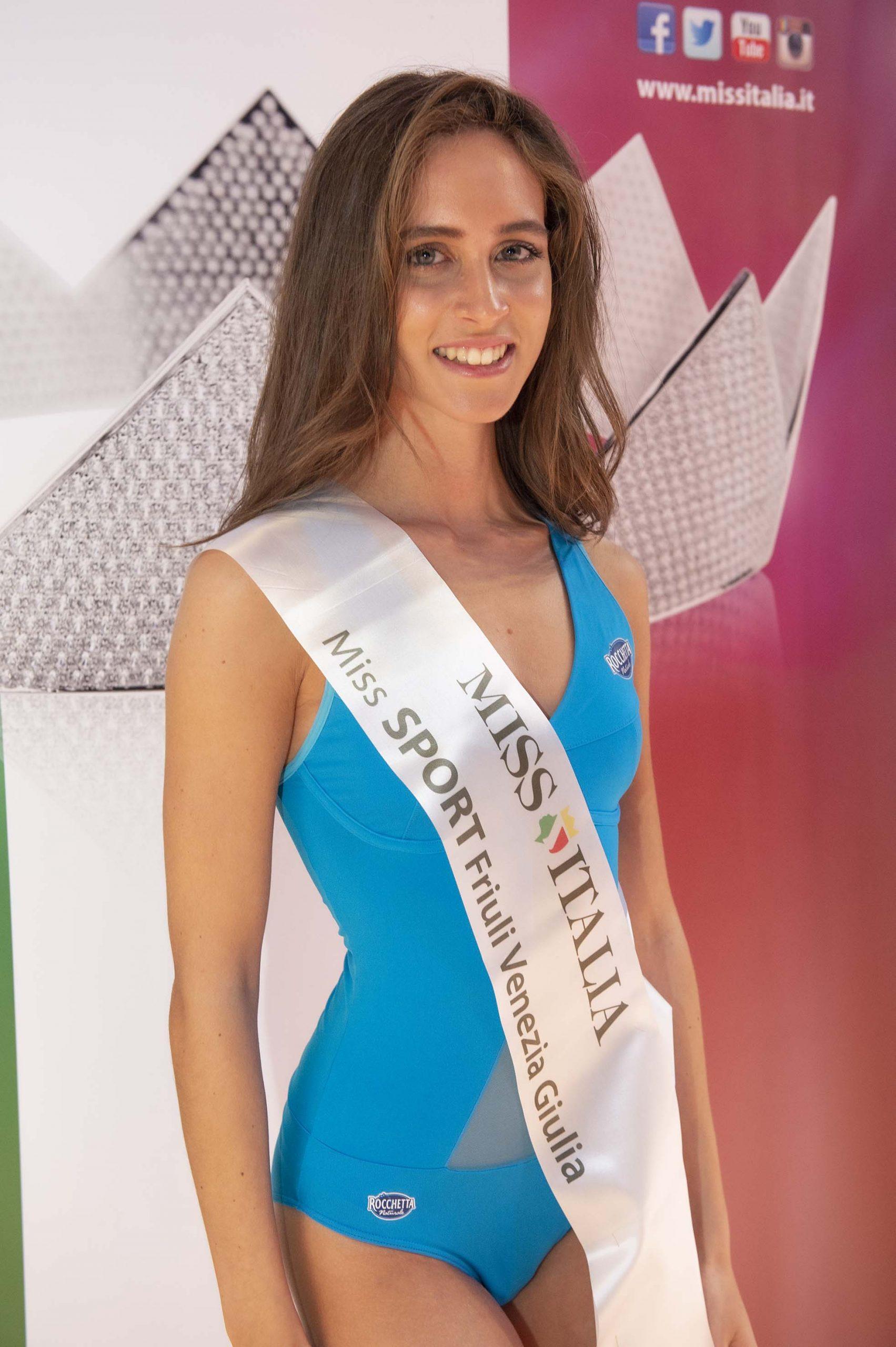 Erika Rebbelato - Miss Sport Friuli Venezia Giulia 1