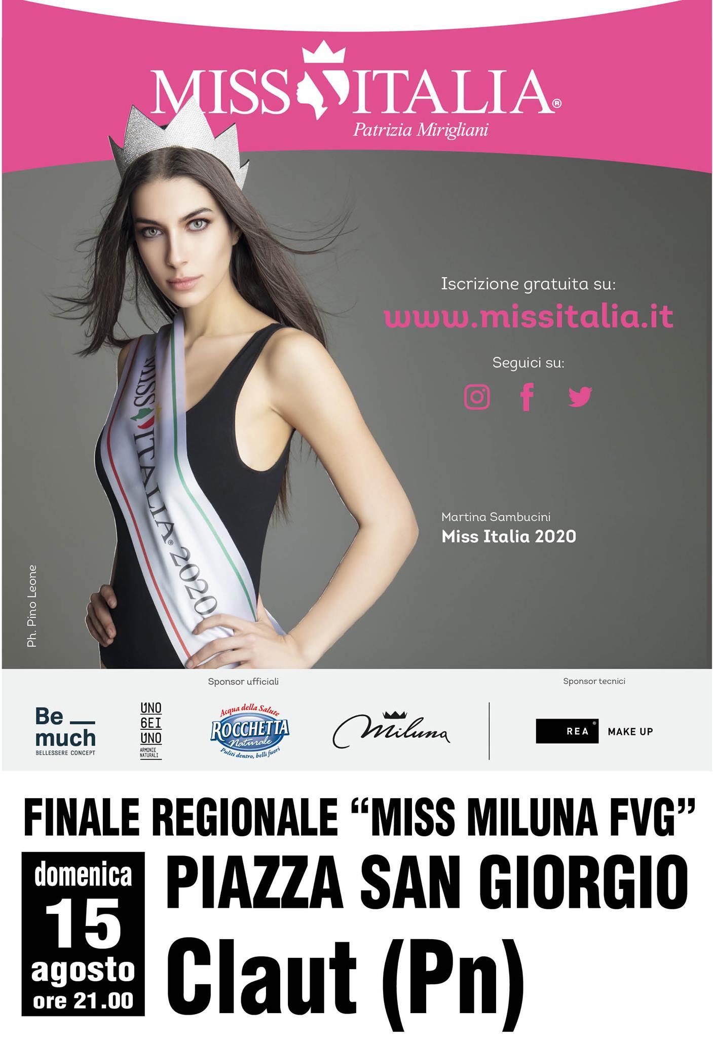 FINALE - MISS MILUNA FVG