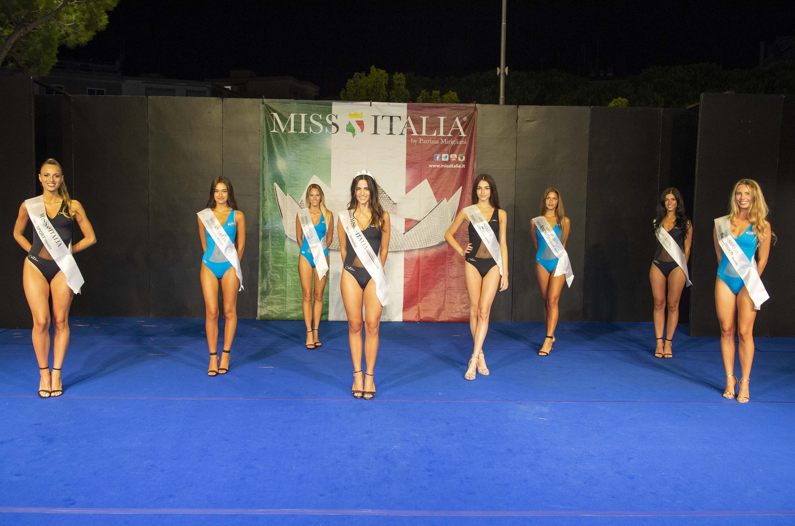 GRUPPO PREFINALISTE MISS ITALIA - VENETO 2021