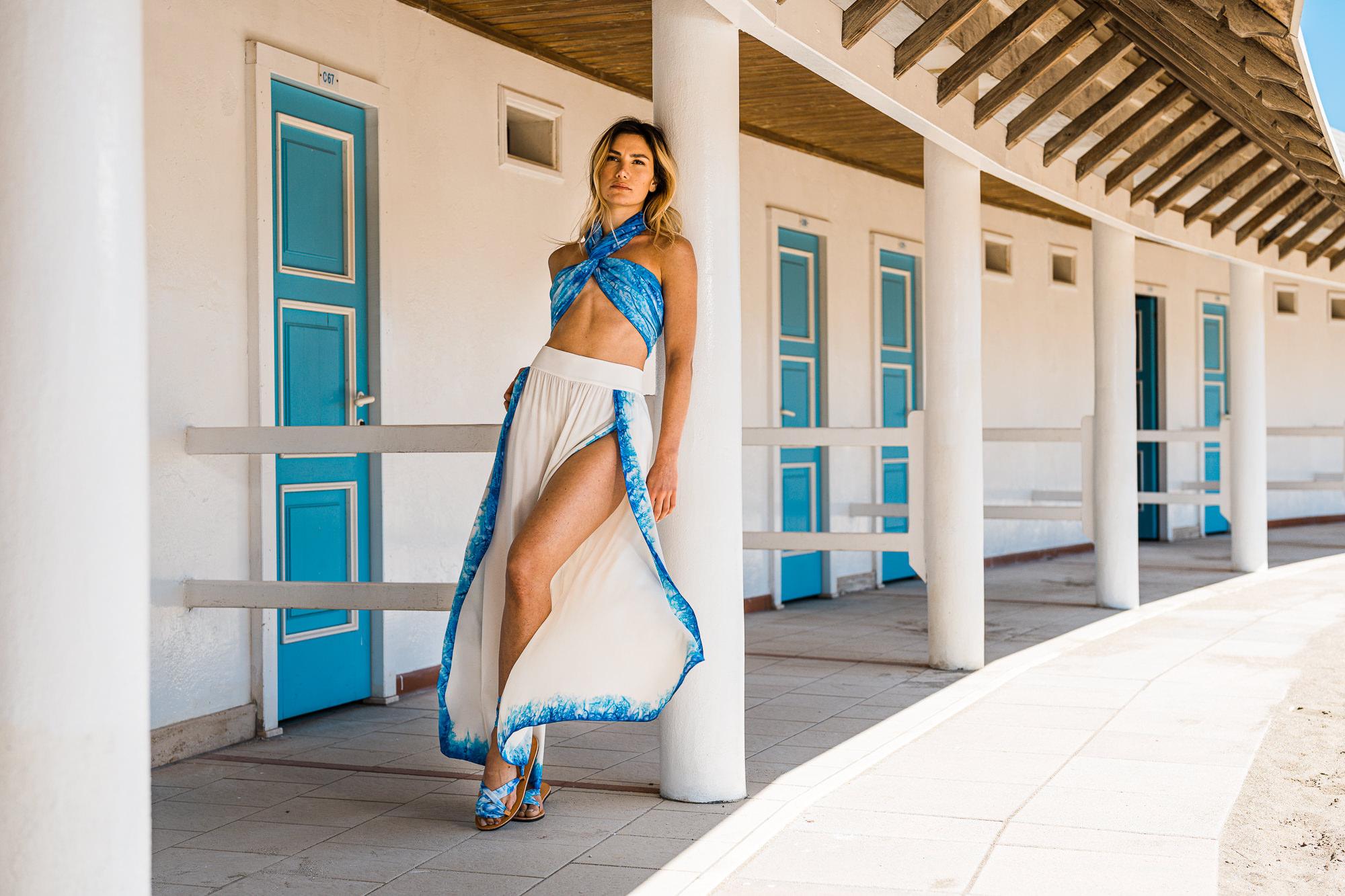 Roberta Baiardi - gonna pantalone