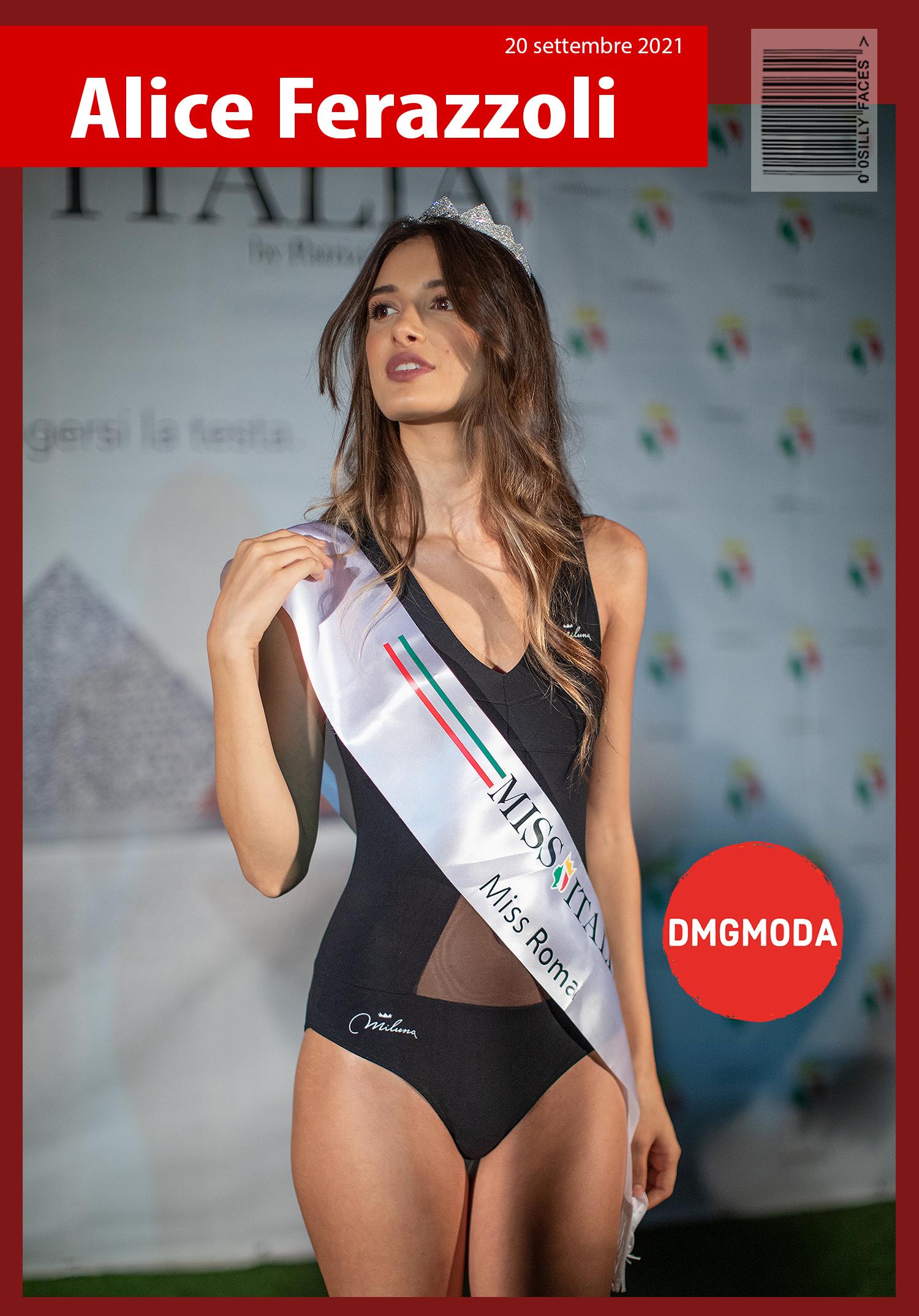 Alice Ferazzoli Miss Roma 2021