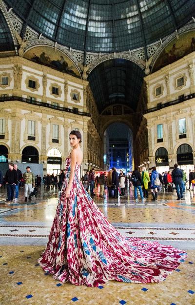 Fashion Designer Zulfiya Sultan