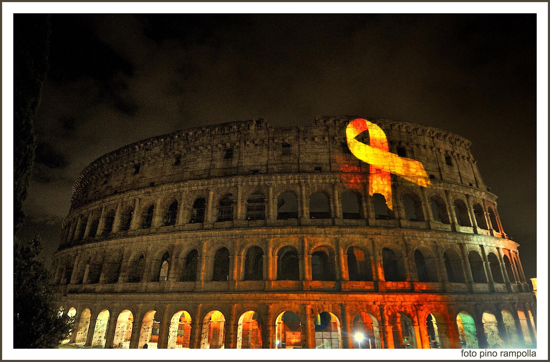 Il 26 settembre dalle ore 21-00 Peter Pan illuminerà il Colosseo