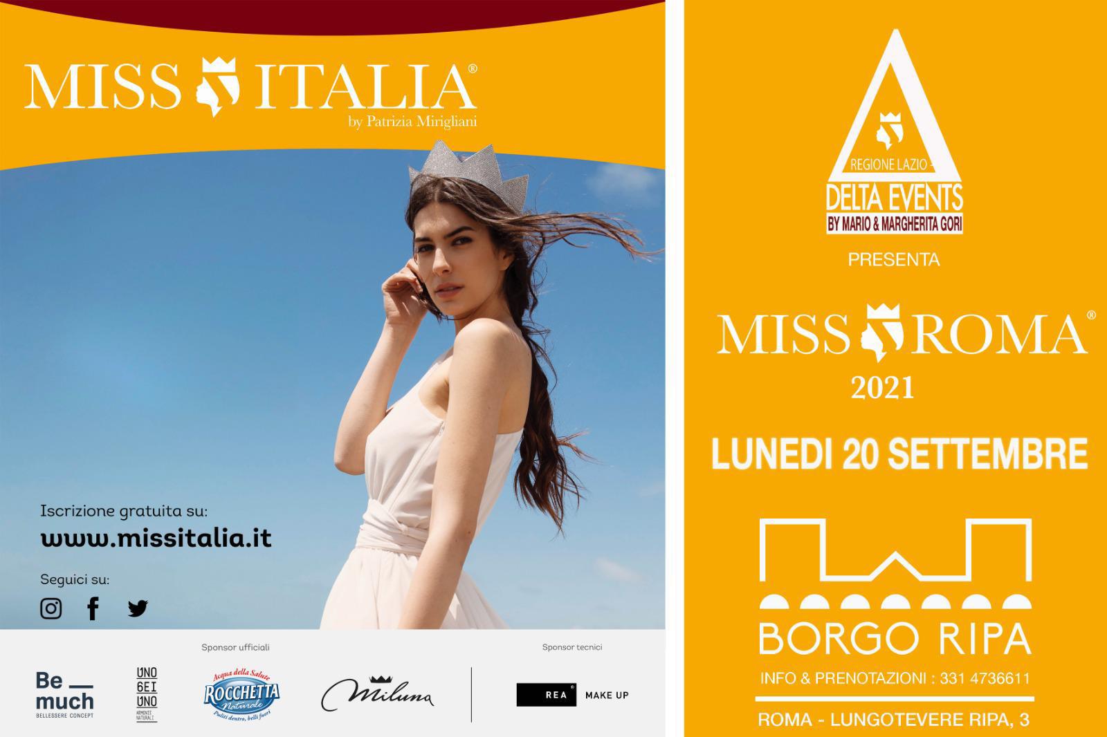 Locandina Miss Roma 2021