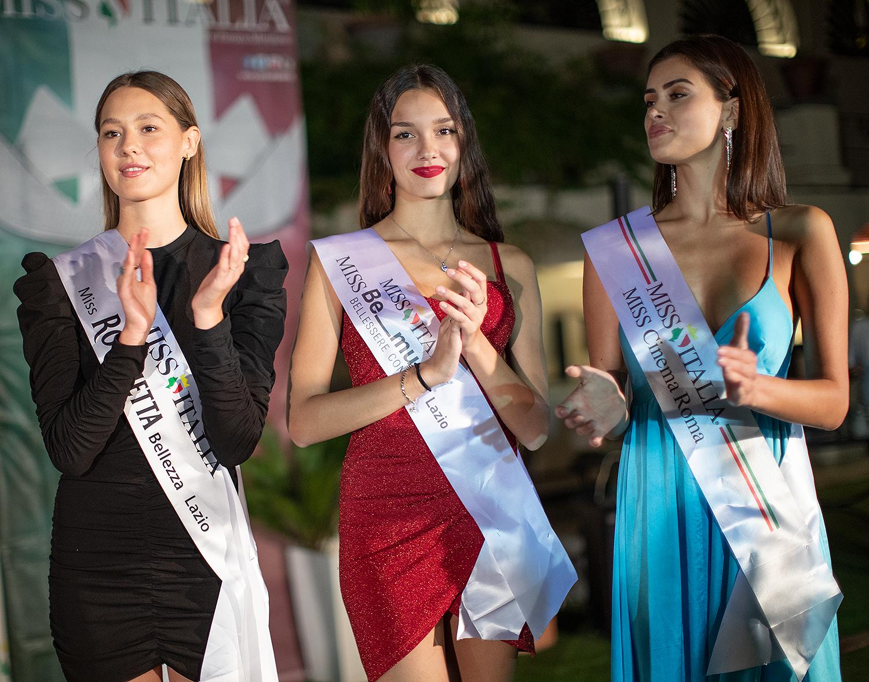 Ospiti della serata le tre ragazze vincitrici dei primi titoli regionali