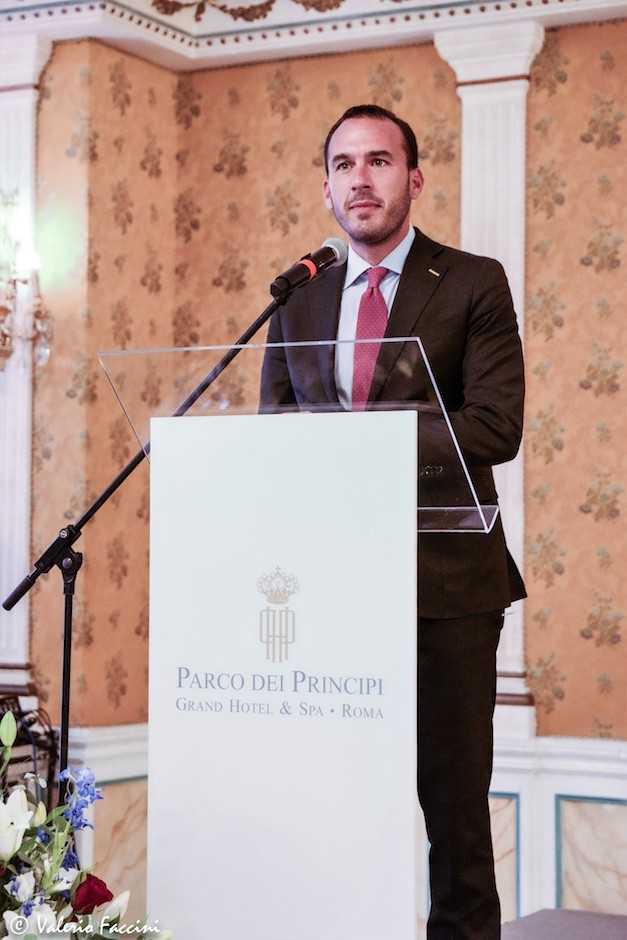 Sottosegretario di Stato del Ministero degli Affari Esteri e della Cooperazione Internazionale Manlio Di Stefano